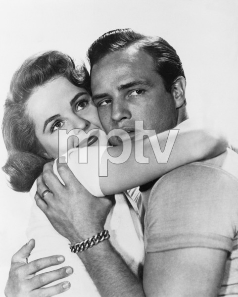 """""""The Wild One""""Mary Murphy, Marlon Brando1953 Columbia Pictures** I.V. - Image 5689_0013"""