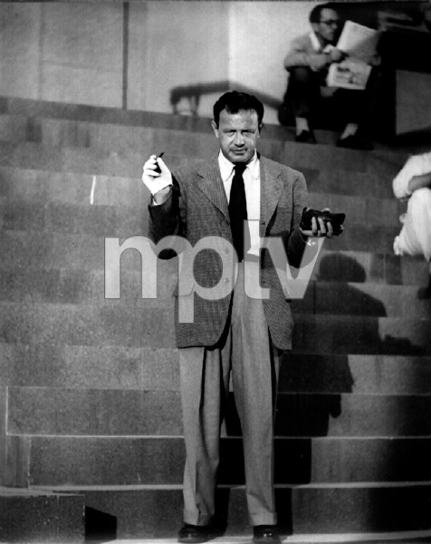 "Joseph MankiewiczFilm Set""Julius Caesar"" (1952)Copyright John Swope Trust / MPTV - Image 5692_0033"