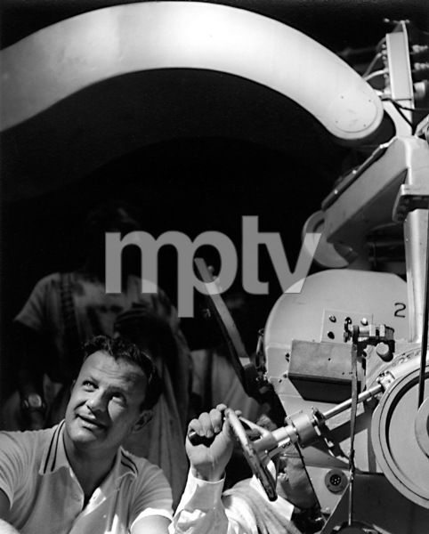Joseph Mankiewicz with camera boom1952Copyright John Swope Trust / MPTV - Image 5692_0035