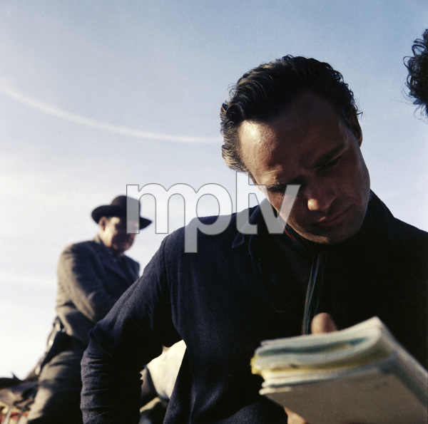 "Marlon Brando on the set of ""One-Eyed Jacks""1961** I.V. - Image 5697_0104"