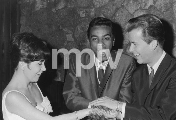 Johnny MathisWith Peggy Lee & Dick Clark1964 © 1978 Kim Maydole Lynch - Image 5718_0069