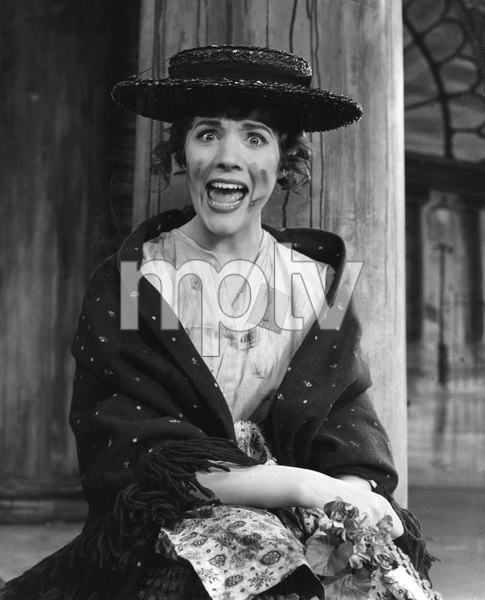 "Julie Andrews on stage in ""My Fair Lady"". 1956-1962. I.V. - Image 5722_0196"