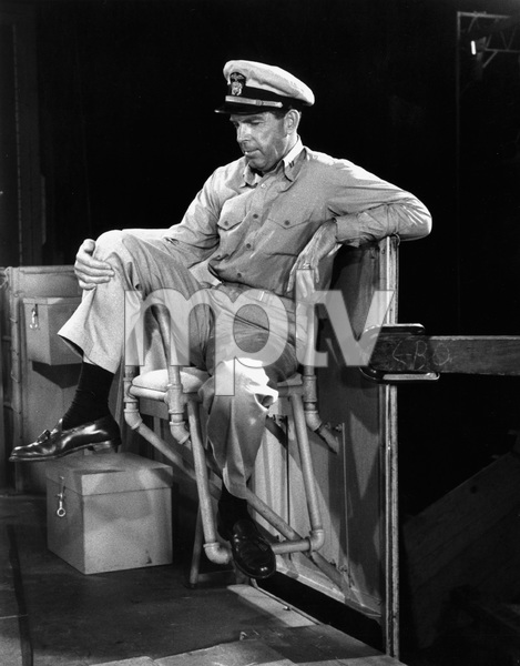 """The Caine Mutiny""Fred MacMurray1954 Columbia Pictures © 1978 Sanford Roth / A.M.P.A.S. - Image 5732_0006"