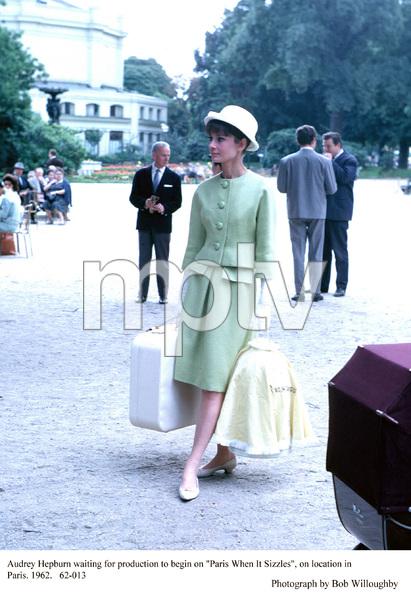 """Paris When It Sizzles""Audrey Hepburn1962 / Paramount © 1978 Bob Willoughby - Image 5734_0037"