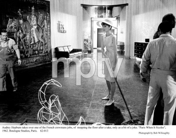 """Paris When It Sizzles""Audrey Hepburn1962 / Paramount © 1978 Bob Willoughby - Image 5734_0120"