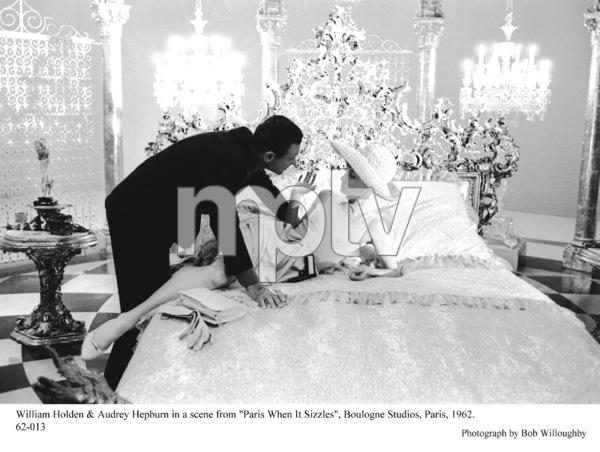 """Paris When It Sizzles""William Holden, Audrey Hepburn1962 / Paramount © 1978 Bob Willoughby - Image 5734_0135"