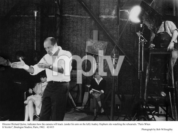 """""""Paris When It Sizzles""""Audrey Hepburn, Dir.Richard Quine1962 / Paramount © 1978 Bob Willoughby - Image 5734_0154"""