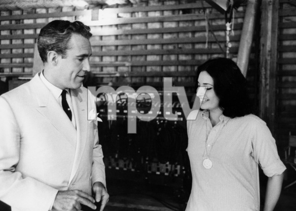 """Tender Is the Night""Jason Robards and Ina Balin1961 © 1978 Bob Willoughby - Image 5738_0012"