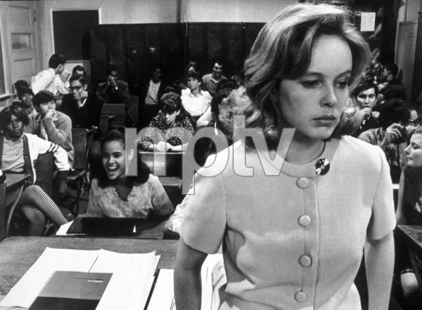 """Up the Down Staircase""Sandy Dennis © 1967 Warner Brothers - Image 5798_0002"