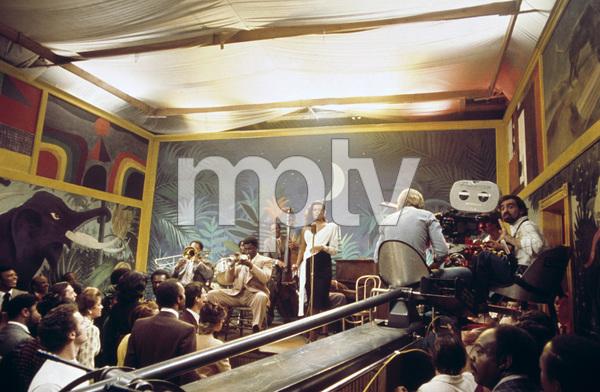 """""""New York, New York""""Clarence Clemons, Diahnne Abbott, director Martin Scorsese1977 United Artists© 1978 Bruce McBroom - Image 5810_0090"""