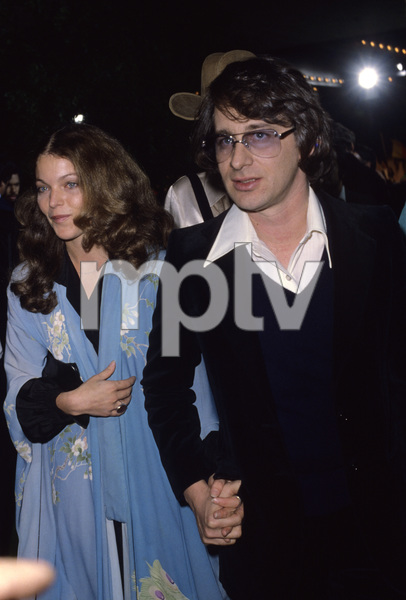 """Steven Spielberg and Amy Irving at the premiere of """"Hair""""1979© 1979 Gary Lewis - Image 5817_0091"""