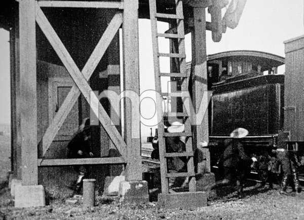 """""""The Great Train Robbery""""1903 Edison Manufacturing Company - Image 5859_0004"""