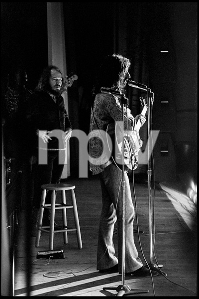 Frank Zappa and The Mothers of Invention in performance at the Durfee Theater in Fall River, Massachusetts (behind Zappa is Ray Collins)18 February 1968 © 2020 Ed Lefkowicz - Image 5872_0068