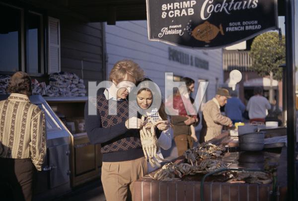 Jaclyn Smith and Roger Daviscirca 1968© 1978 Gary Lewis - Image 5917_0087