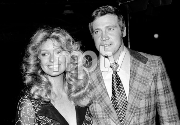 Farrah Fawcett with Lee Majors at an ABC Affiliate Party, 1974 © 1978 Kim Maydole Lynch - Image 5928_0118