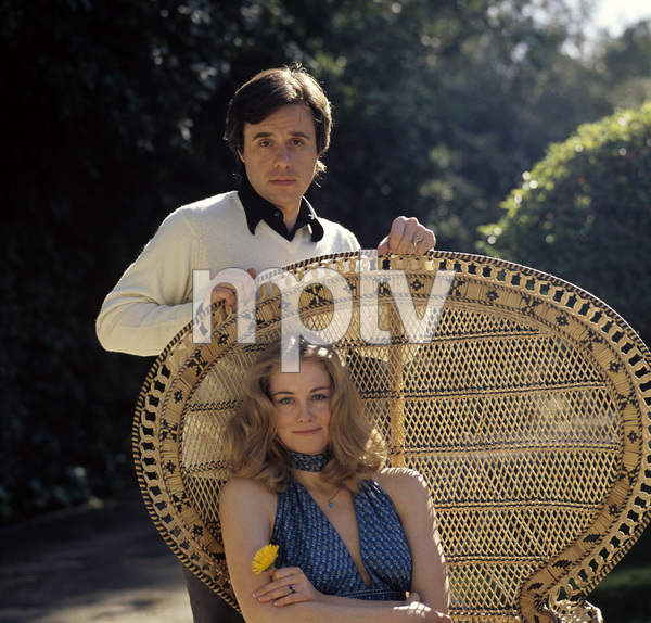 Cybill Shepherd and Peter Bogdanovich in Bel Air1975 © 1978 Bruce McBroom - Image 5946_0084