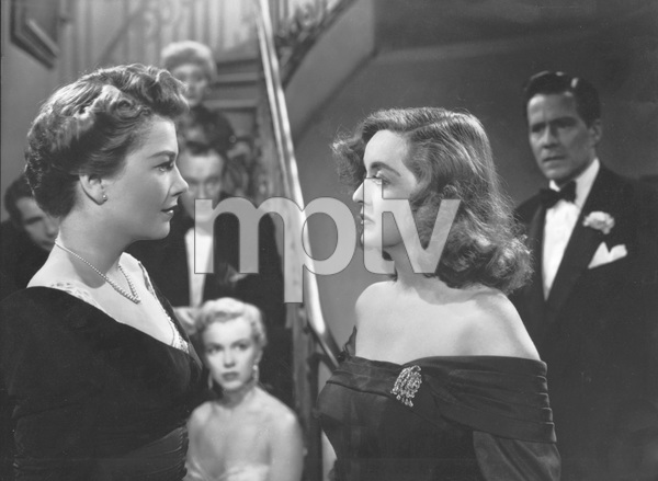 """""""All About Eve""""Anne Baxter, Marilyn Monroe, & Bette Davis1950 20th Century Fox**I.V. - Image 5956_0022"""