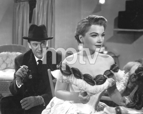 """""""All About Eve""""Gary Merrill & Anne Baxter1950 20th Century Fox**I.V. - Image 5956_0025"""