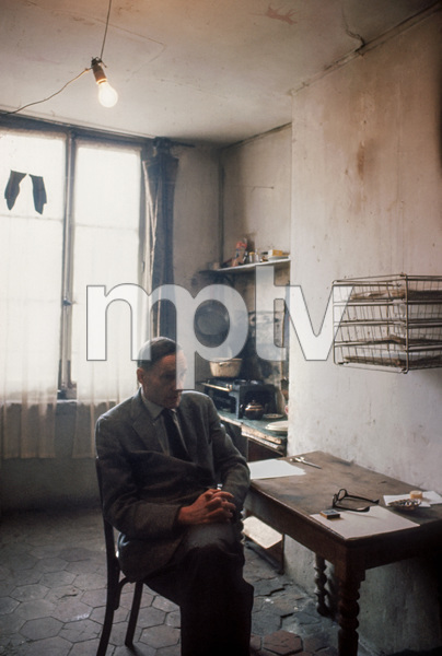 William S. Burroughs in his Paris apartment1962© 1978 Bob Willoughby - Image 5969_0102