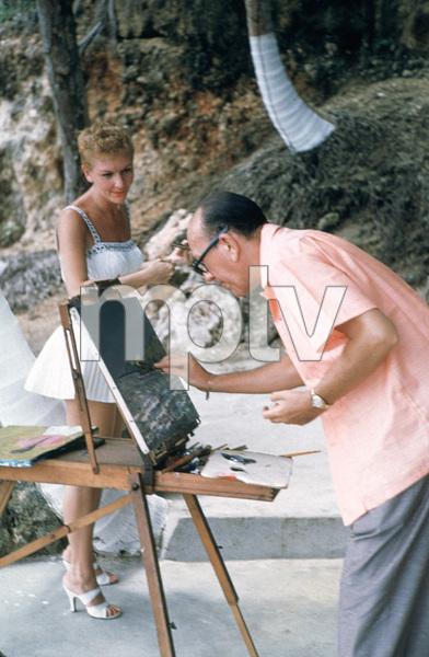 Noel Coward with Mary Martin 1955 © 2001 Mark Shaw - Image 5973_0009