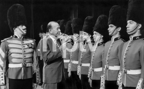 Noel Coward, at Festival Ballet opening, London Express News Photo, July 1959, **I.V. - Image 5973_0014
