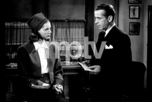 """The Big Sleep""Lauren Bacall and Humphrey Bogart1946 Warner Bros.MPTV - Image 5982_0003"