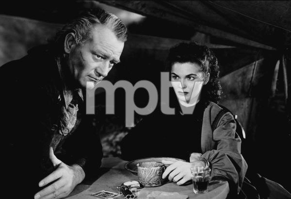 """Red River,"" United Artists 1948.John Wayne and Joanne Dru. - Image 6004_0002"