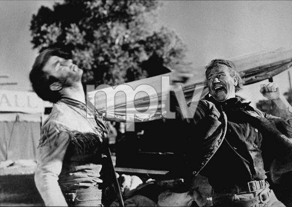 """""""Red River,"""" United Artists 1948.Montgomery Clift and John Wayne. - Image 6004_0007"""