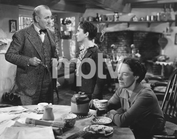 """""""National Velvet""""Donald Crisp, Elizabeth Taylor, Ann Revere1945 MGM - Image 6019_0011"""