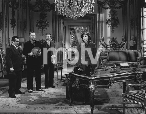 """Ninotchka""Alexander Granach, Sig Ruman, Felix Bressart, Greta Garbo1939 MGM - Image 6103_0010"