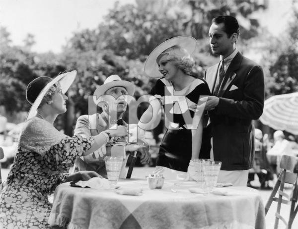 """Bombshell""C. Aubrey Smith, Jean Harlow, Franchot Tone1933 MGM - Image 6120_0004"