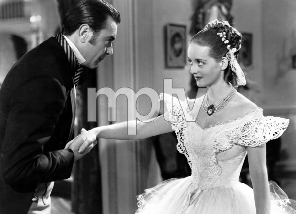 """Jezebel""George Brent and Bette Davis1938 Warner**I.V. - Image 6146_0012"