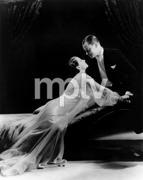 "Norma Shearer and Robert Montgomery in ""Riptide""1934 MGM** I.V. / J.J. - Image 6172_0004"
