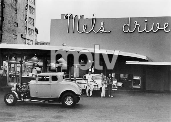 """American Graffiti""Ron Howard, Richard Dreyfuss, Charlie M. Smith © 1973 Universal - Image 6199_0013"
