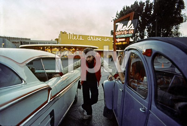 """American Graffiti"" Director George Lucas 1973 Universal Pictures ** I.V. - Image 6199_0172"