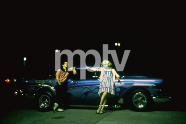 """""""American Graffiti""""Charles Martin Smith, Candy Clark1973 Universal Pictures** I.V. - Image 6199_0209"""