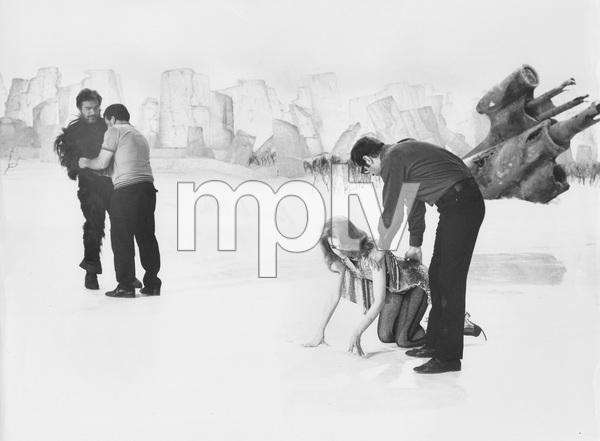 Jane Fonda and director/husband Roger Vadim, BARBARELLA, Paramount, I.V. - Image 6232_0156