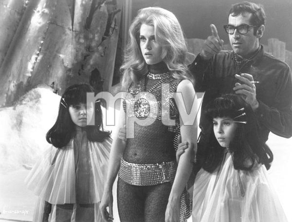 """Barbarella""Jane Fonda and Roger Vadim1968 Paramount**I.V. - Image 6232_0169"