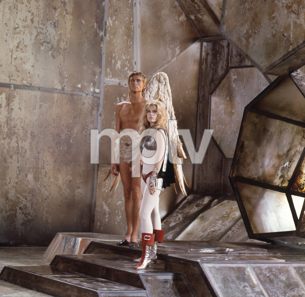 """Barbarella""Jane Fonda and John Phillip Law1968 Paramount**I.V. - Image 6232_0175"