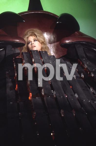 Jane Fonda in the orgasm machine, BARBARELLA, Paramount, I.V. - Image 6232_0177