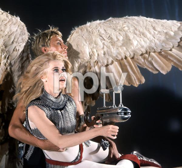Jane Fonda, John Phillip Law, BARBARELLA, Paramount, 1968, I.V. - Image 6232_0181