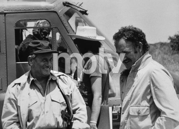 """The Domino Principle""Eli Wallach and Gene Hackman1977 Assoc. General Films © 1978 Mel Traxel - Image 6322_0004"