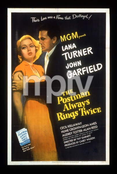 """The Postman Always Rings Twice""Poster1946 MGM**I.V. - Image 6373_0005"