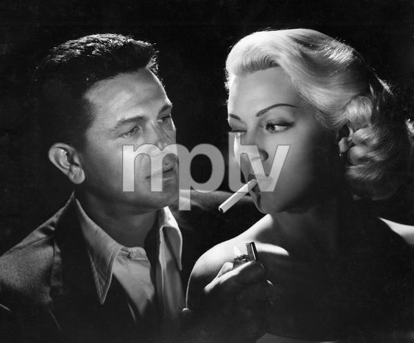 John Garfield, Lana Turner, THE POSTMAN ALWAYS RINGS TWICE, M-G-M, 1946, I.V. - Image 6373_0034