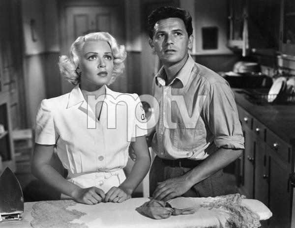 John Garfield, Lana Turner, THE POSTMAN ALWAYS RINGS TWICE, M-G-M, 1946, I.V. - Image 6373_0039
