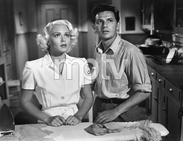 John Garfield, Lana Turner, THE POSTMAN ALWAYS RINGS TWICE, M-G-M, 1946, I.V. - Image 6373_0039