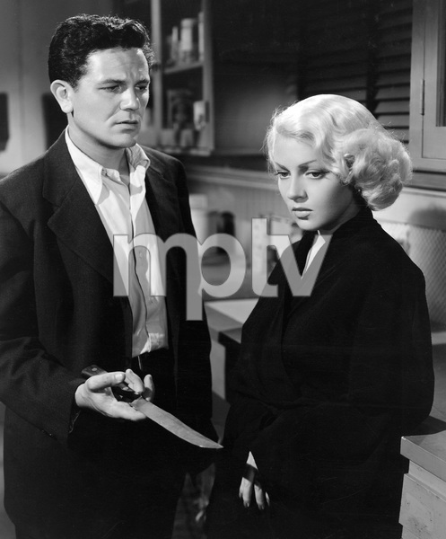 John Garfield, Lana Turner, THE POSTMAN ALWAYS RINGS TWICE, M-G-M, 1946, I.V. - Image 6373_0041
