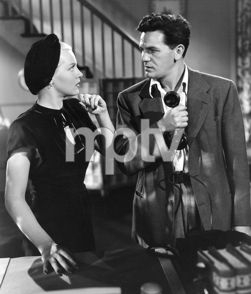 John Garfield, Lana Turner, THE POSTMAN ALWAYS RINGS TWICE, M-G-M, 1946, I.V. - Image 6373_0046