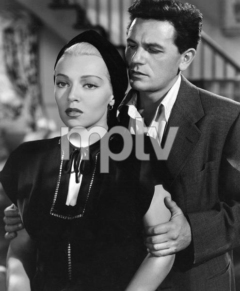 John Garfield, Lana Turner, THE POSTMAN ALWAYS RINGS TWICE, M-G-M, 1946, I.V. - Image 6373_0047