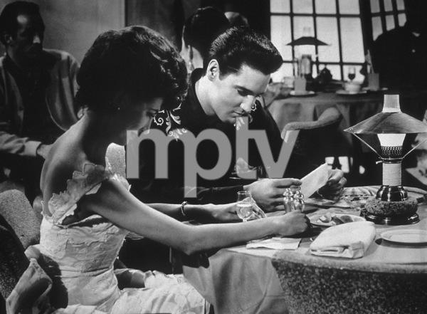 """""""Fun in Acapulco""""Elvis Presley and Elsa Cardenas1963 Paramount - Image 6411_0005"""